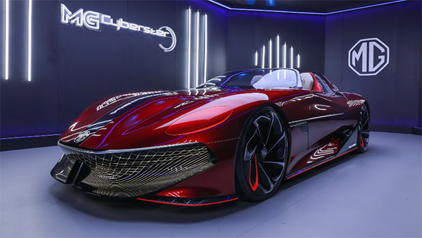 MG Cyberster Officially Revealed In Pictures Ahead Of Its Global Unveil