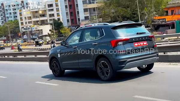 Skoda Kushaq Spied Testing Without Wraps Ahead Of Its Launch In India