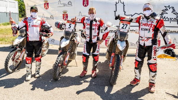 2021 Andalucia Rally Final Results: Hero MotoSports Finishes 4th Overall In The Road To Dakar Rally