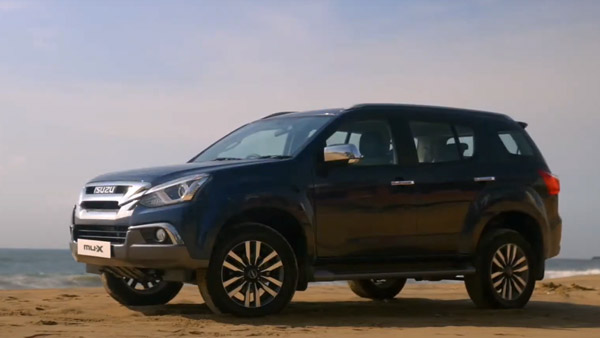 Isuzu MU-X BS6 Launched In India With New Powertrain: Prices Start At Rs 33.23 Lakh