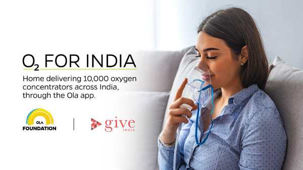 Ola To Provide Oxygen Concentrators For Free: Partners With GiveIndia