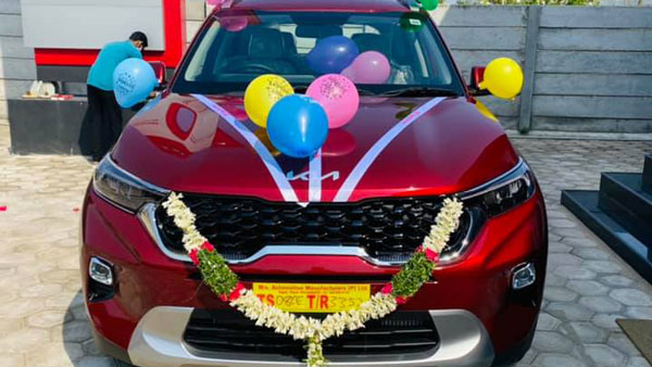 2021 Kia Sonet & Seltos Deliveries Started Across India: Waiting Periods Set To Increase