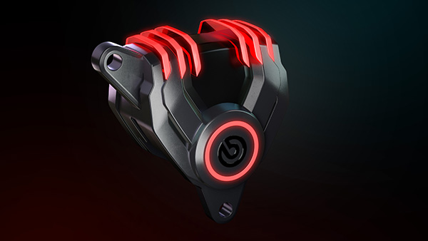 Brembo Brake Calipers With LEDs: Brembo Reveals New G Sessanta LED Brake Caliper Concept