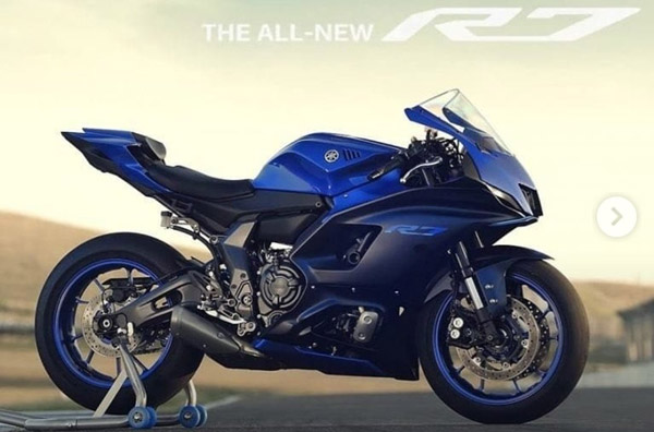 Yamaha R7 Images Leaked Ahead Of Launch: Global Reveal On 18 May