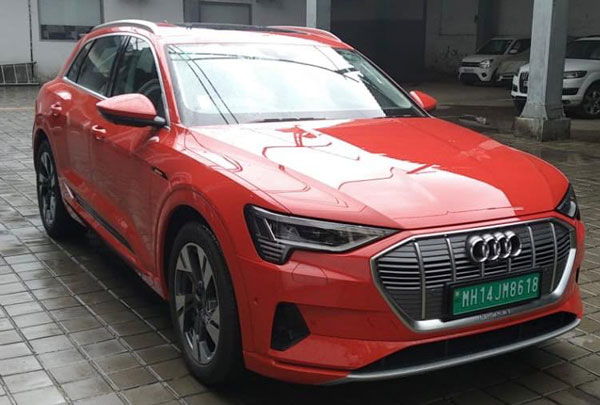 Audi e-Tron Arrives At Showrooms; India Launch On The Cards!