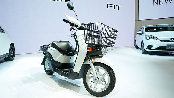 Honda Benly e Electric Scooter Being Tested By ARAI: Benly e To Be Sold Only To Corporate Companies