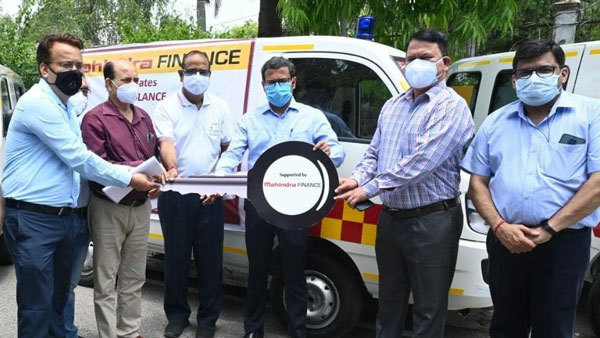 Mahindra Donates Oxygen Concentrators & Ambulances To Uttarakhand Govt For COVID-19 Relief