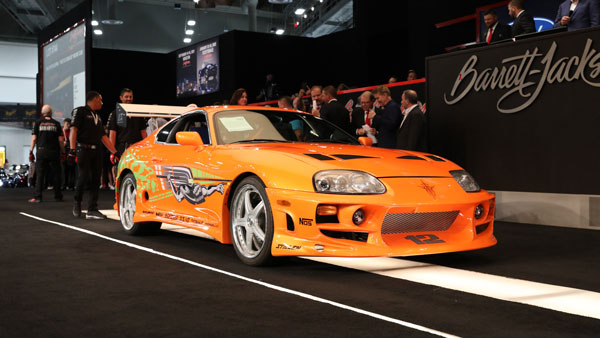 Fast & Furious Toyota Supra Auctioned For Rs 4.07 Crore; Becomes Most-Expensive Supra
