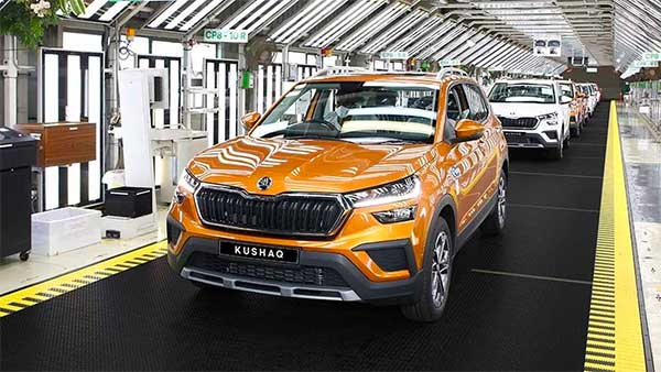 New Skoda Kushaq Production Begins At Pune Plant; Bookings & Delivery Details Revealed