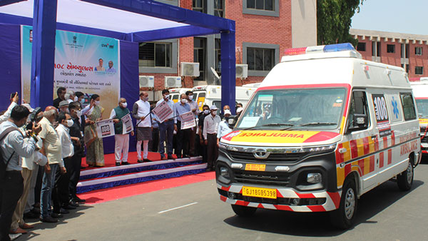 Tata Motors Delivers 25 Ambulances To Gujarat: Bags Order For 115 Units From State Government