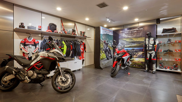Ducati Opens New Showroom In Pune: Multistrada V4 Showcased For The First Time In India