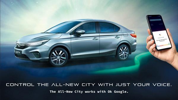 Honda City Gets Google Assistant Feature: Fifth-Generation Sedan Gets Voice-Commands