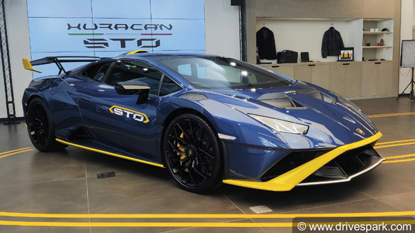Lamborghini Huracan STO Launched In India At Rs 4.99 Crore: V10 Engine, 630bhp & RWD