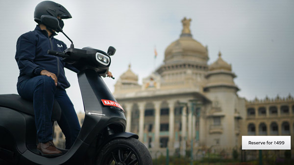 Ola Electric Scooter Bookings Open At Rs 499 — Booking Process & Details Explained