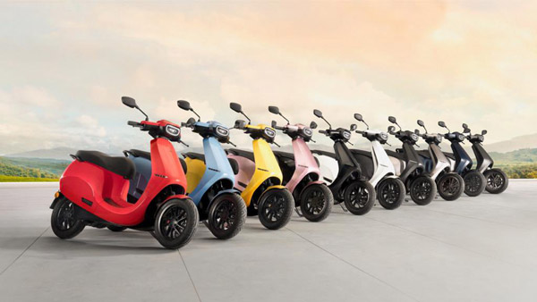 Ola Electric Scooter Colours Officially Revealed: Customers Get To Choose From 10 Colours