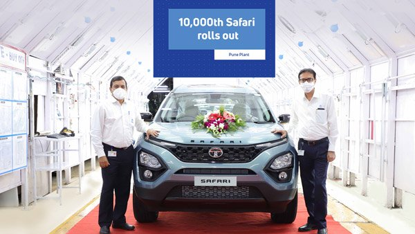Tata Safari 10,000 Units Production Crossed In 5 Months Of India Launch: New Milestone Achieved!