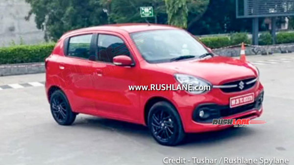 New Maruti Suzuki Celerio Spied Undisguised Ahead Of India Launch; Complete Design Leaked: Pics