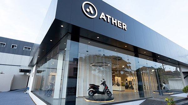 Ather Energy Opens Its Biggest Retail Showroom In Coimbatore; Third Ather Space In Tamilnadu