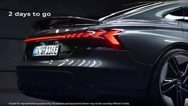 Audi E-Tron GT Launch Tomorrow; Audi Claims 383 Km Range