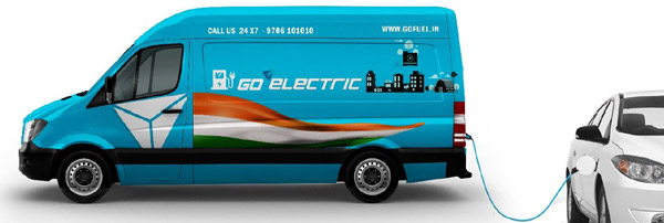 GoFuel Launches 'Charge-on-the-Go' Mobile Charging On World EV Day — Mobile Chargers To Deploy Upto