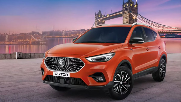 MG Astor Unveiled In India Ahead Of Launch: Two Petrol Engines, Level 2 ADAS, AI Assistance & More