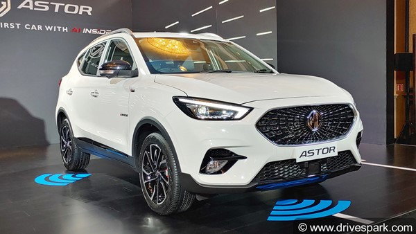 MG Astor To Be Launched In Early October; Will Be Available In 7 Trim Levels
