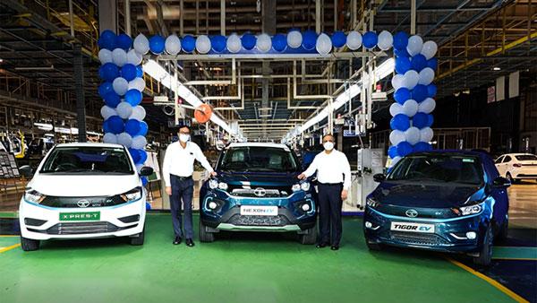 Tata Motors Achieves 10000 Unit EV Sales Milestone; Dominates The EV Segment With 70% Market Share