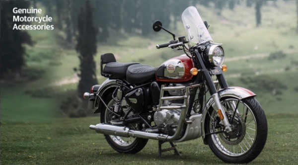 All-New Royal Enfield Classic 350 Fitted With Genuine Motorcycle Accessories: First Impressions