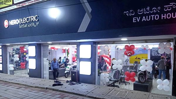 Hero Electric Opens New Dealership In  Mysore — Second Showroom In Sandalwood City