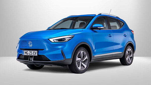 The New MG ZS EV Gets An Uprated Battery Pack And A Claimed ARAI Range of 419 Kms