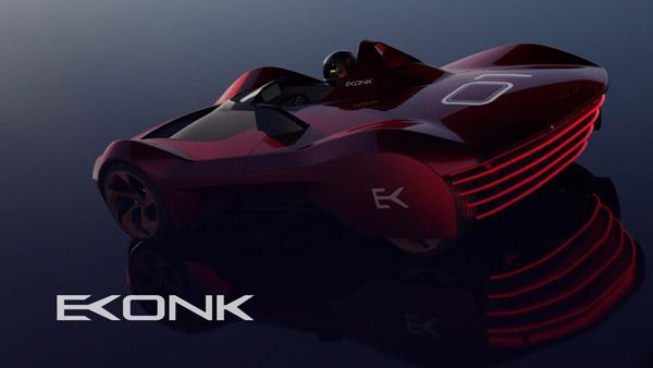 Vazirani Automotive Reveals Radical Ekonk Electric Hypercar Concept