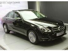 Mercedes E350 CDI Launch