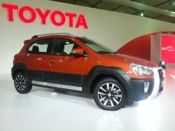 Toyota Etios Cross Delivery