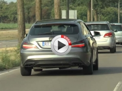 2016 Mercedes Benz Cla Caught Testing In Video