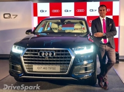 Audi Q7 Petrol Launched In India Launch Price Specifications Images