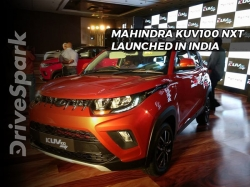 Mahindra Kuv100 Nxt Launched In India Launch Price Mileage Specifications Images Nmc1