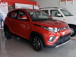 Mahindra Kuv100 Nxt Revealed In India Ahead Of Launch Nmc1