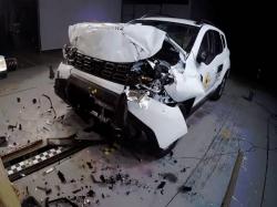 Dacia Duster Scores 3 Star Rating Euro Ncap Crash Test