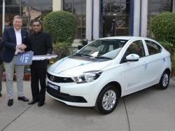 Tata Motors Tigor Electric Vehicle Delivered Eesl