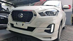 Datsun Go Facelift 2018 With Cvt Spied In Indonesia India Launch Soon