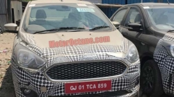 New Ford Aspire 2018 Facelift Spotted Launch Expected Soon Gets Additional Features Updates