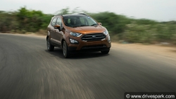 Ford Ecosport S Review Test Drive Changes Specs Features