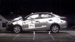 Toyota Yaris Crash Test Asean Ncap Ratings Video Results