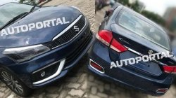 Maruti Suzuki Ciaz Facelift Spied Undisguised Ahead Of Launch