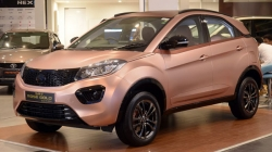 Tata Nexon Rose Gold Edition Showcased At Dealership Coimbatore
