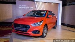 Hyundai Verna 1 4 Litre Diesel Model Launched India At Rs 9 29 Lakh