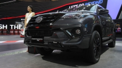 Toyota Fortuner Trd Sportivo Suv Showcased At Indonesia Features And Specs