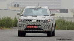 Mahindra Xuv300 Bs Vi Was Spotted Testing In Delhi