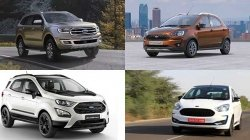Ford Figo Aspire Freestyle Ecosport Endeavour Discounts Offers For September