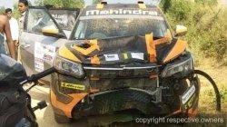 Gaurav Gill Accident Inrc Jodhpur Maxperience Rally Three Dead